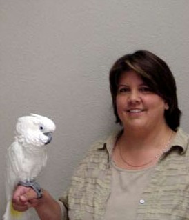 Alison and her Bird