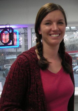 Charlene Wesler of the Gaufre Gourmet