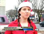 Charlene Wesler feeds the homeless on christmas