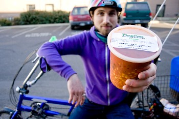 Jed Lazar of SoupCycle, soup delivery service
