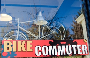 The Bike Commuter Storefront. Photo by Juan Carlos Delgado jcdphoto.com